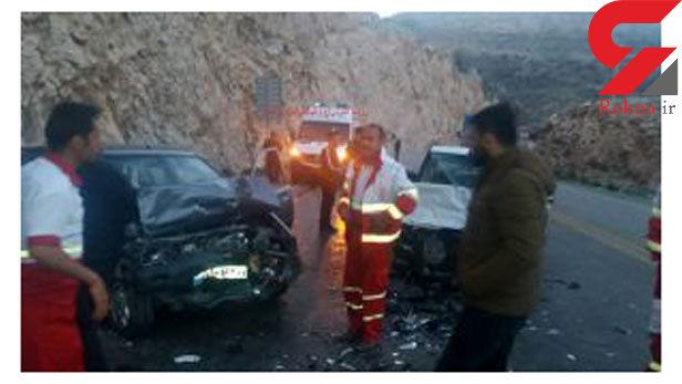1 کشته و 2 مصدوم در تصادف محور یاسوج به بابامیدان