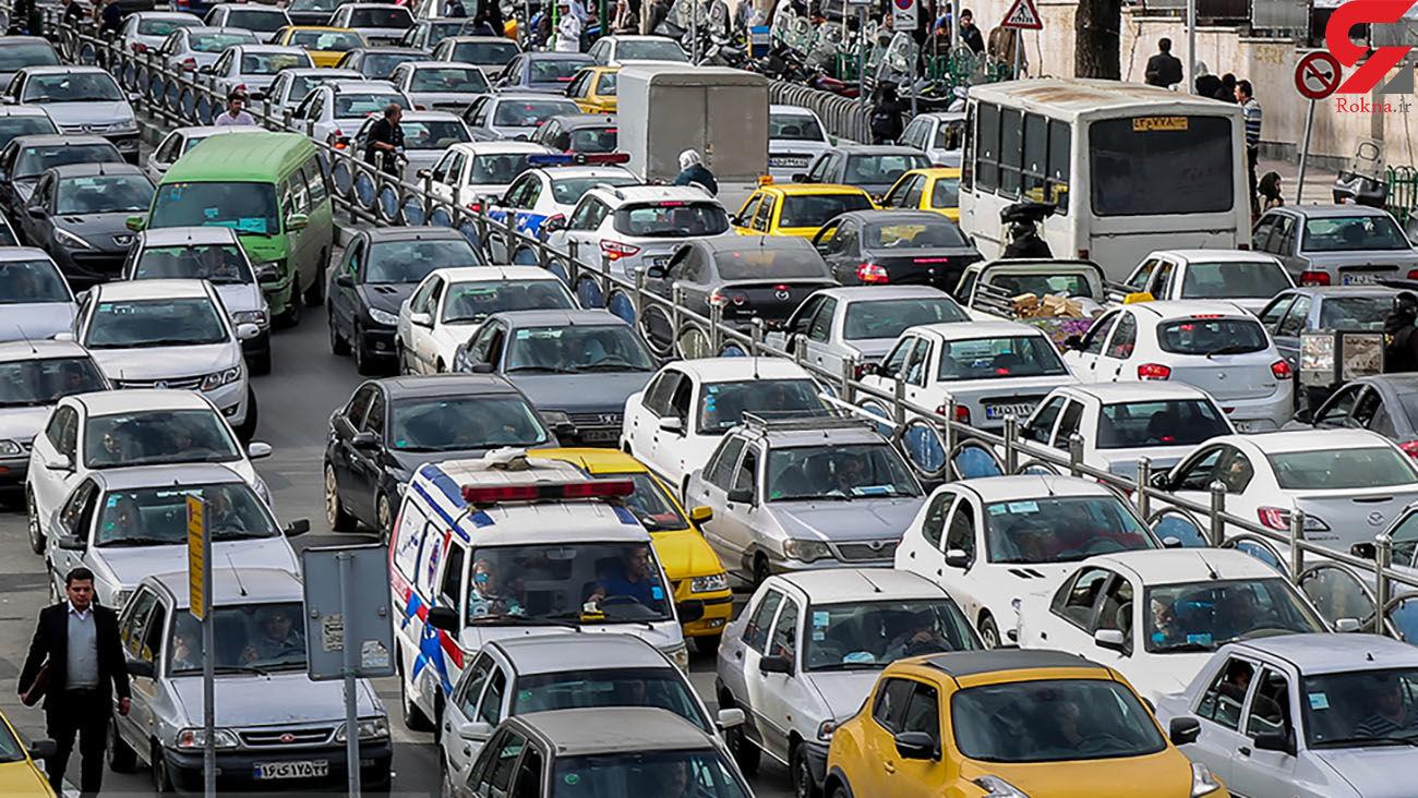 افزایش ترافیک تهران با افزایش جریمه ها