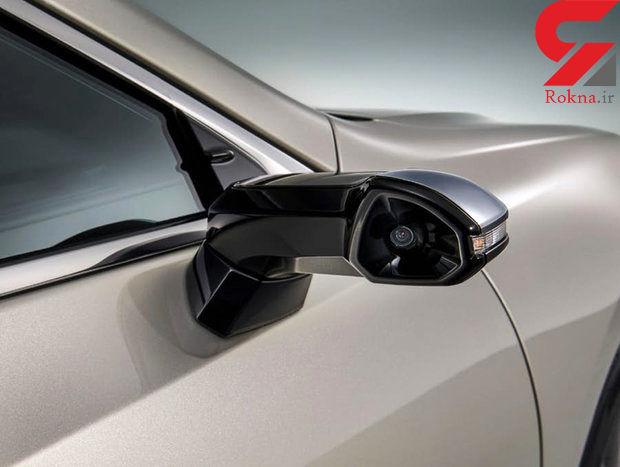 دوربین دیجیتال به جای آینه بغل مخصوص خودروهای لاکچری