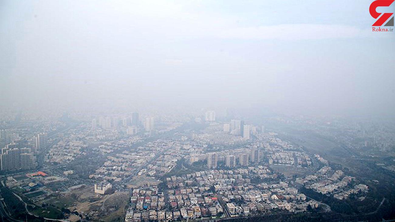 پیش بینی افزایش غلظت آلاینده ازن در هوای تهران