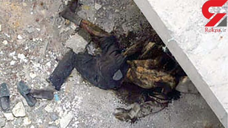 بوی تعفن جسد این مرد مو بلند مشهدی صدای همسایه ها را درآورد + عکس هولناک