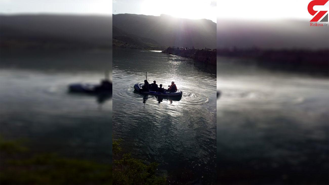 غرق شدن فردی در سد الخلج بستانآباد