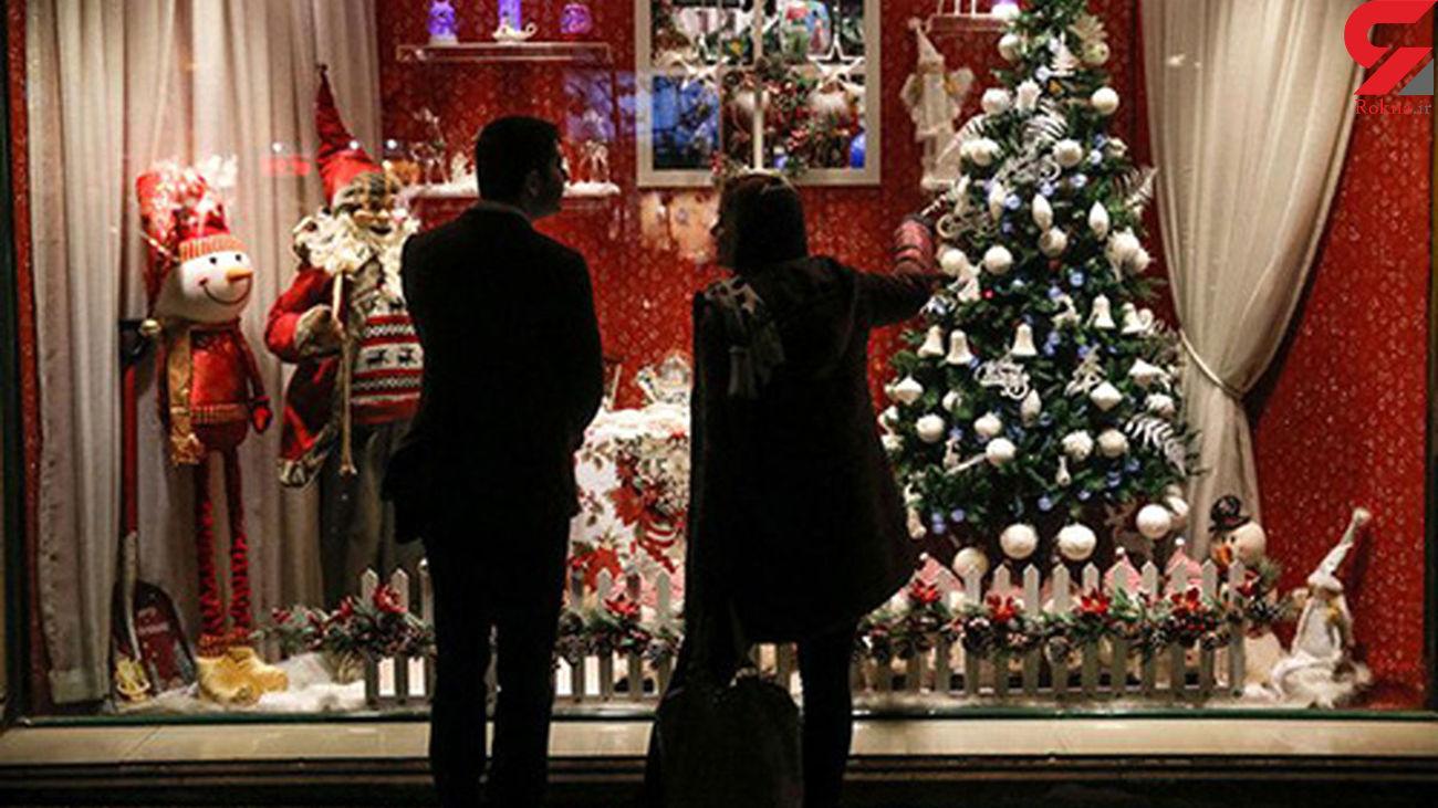 کریسمس پر خرج برای ایرانی ها / قیمت باورنکردی درخت کریسمس + عکس