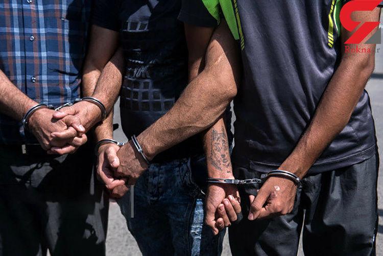 جویندگان گنج لواسان دستگیر شدند