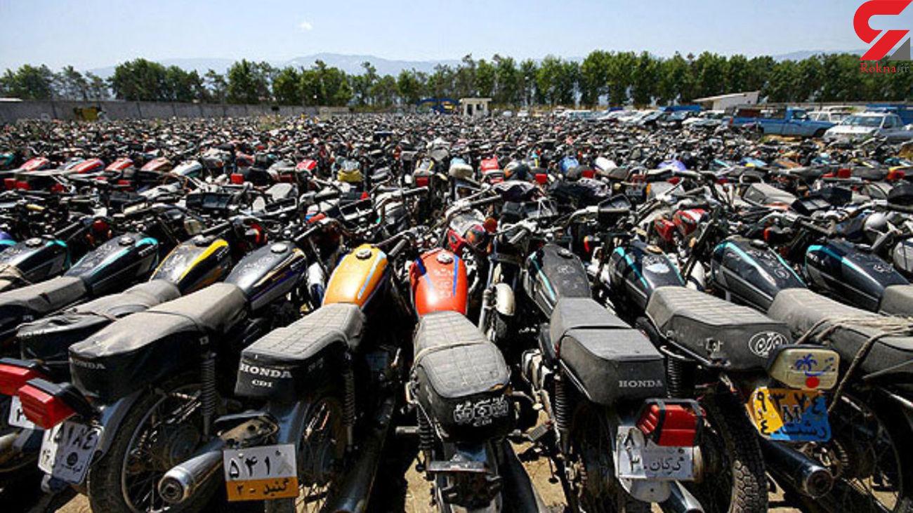روند ضعیف اسقاط موتورسیکلتهای رسوبی در کشور
