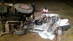 تصادف مرگبار در همدان / شب گذشته رخ داد