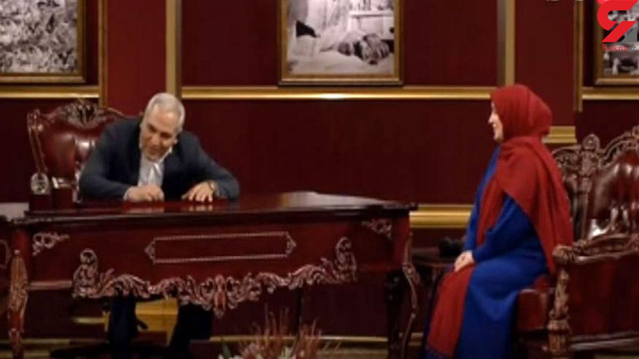 مهران مدیری با کیسه سوند در دورهمی!+فیلم