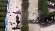 فیلم دیده نشده از تیراندازی تروریستی اهواز / لحظه به لحظه از نمای بالا!
