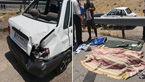 راننده پراید در تصادف با اتوبوس کشته شد/ در اتوبان قم – تهران