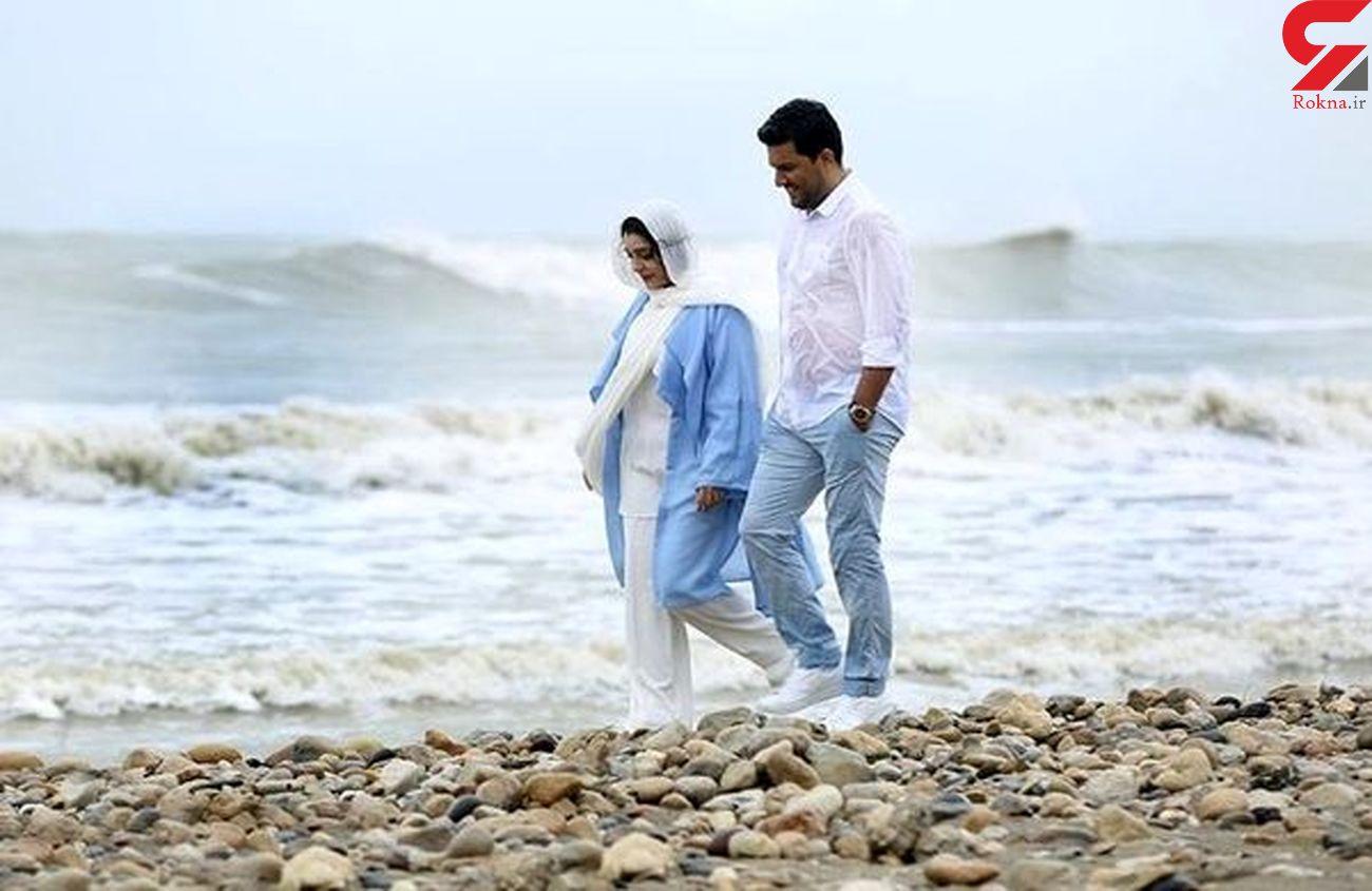 حامد بهداد و ساره بیات در ماه عسل + عکس