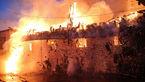 ۲۵ نفر در حادثه آتش سوزی مسجد و بازار ساری مصدوم شدند