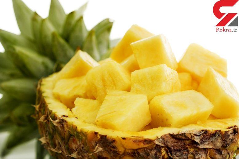 فواید آناناس در سلامت بدن