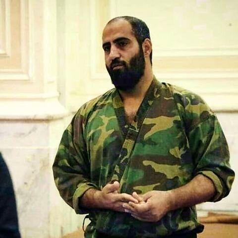 حسن عبداللهزاده در تدمر سوریه به شهادت رسید