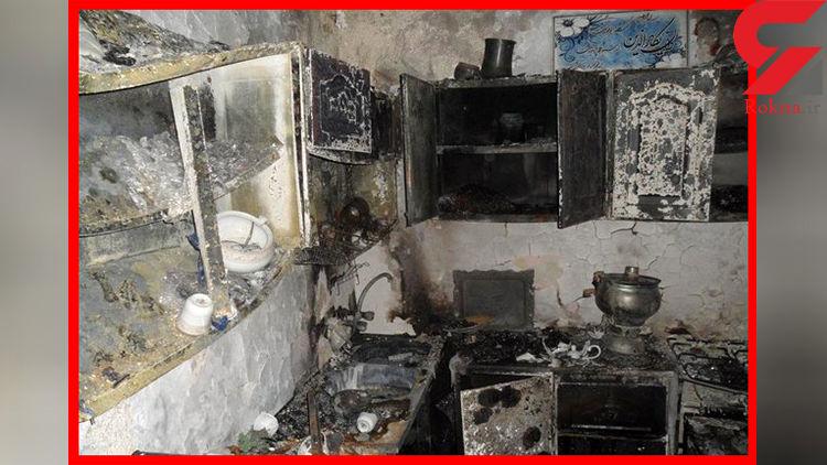 انفجار کپسول گاز در شهرستان قزوین / 6 تن روانه بیمارستان شدند + عکس