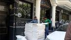 ماموران شهرداری در ساختمان فدراسیون فوتبال/ بازسازی غیرقانونی است!+ عکس