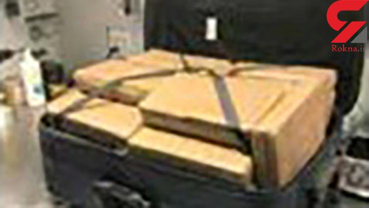 پیدا شدن چمدانی پر از کوکایین در فرودگاه