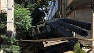 واژگونی خودروی حامل میلگرد در فلاح