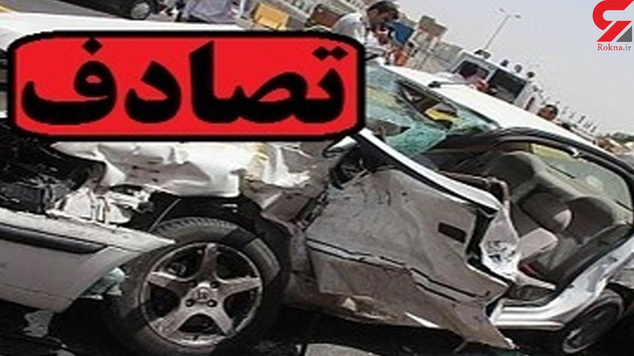 2 کشته و مصدوم در سانحه رانندگی فسا
