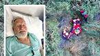 نجات معجزه آسا پیرمرد 75 ساله + عکس