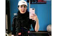 فیلم اقدام ممنوعه مریم معصومی در مکان عمومی ! + عکس بدون روسری خانم بازیگر