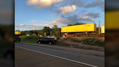 برخورد مرگبار قطار با خودرو در ایالت «تنسیِ» آمریکا