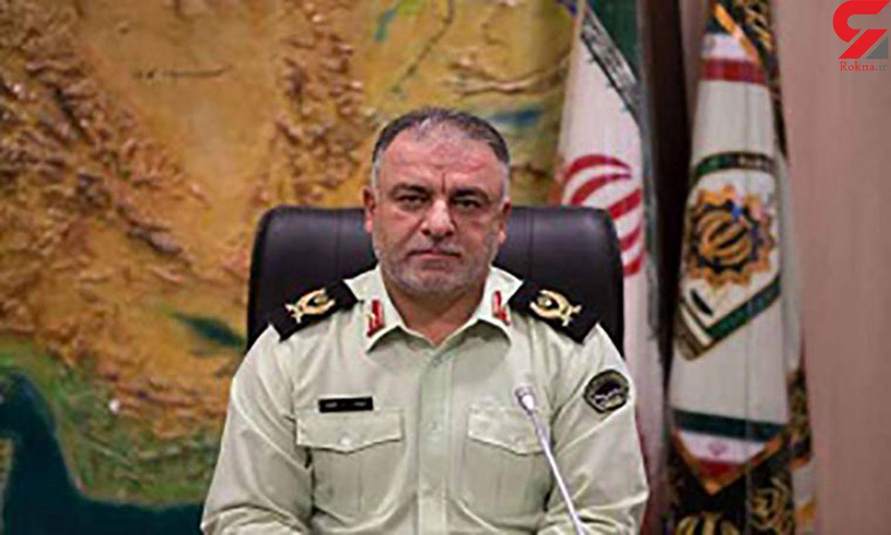 دستگیری سارق منزل با 60 فقره سرقت در غرب تهران