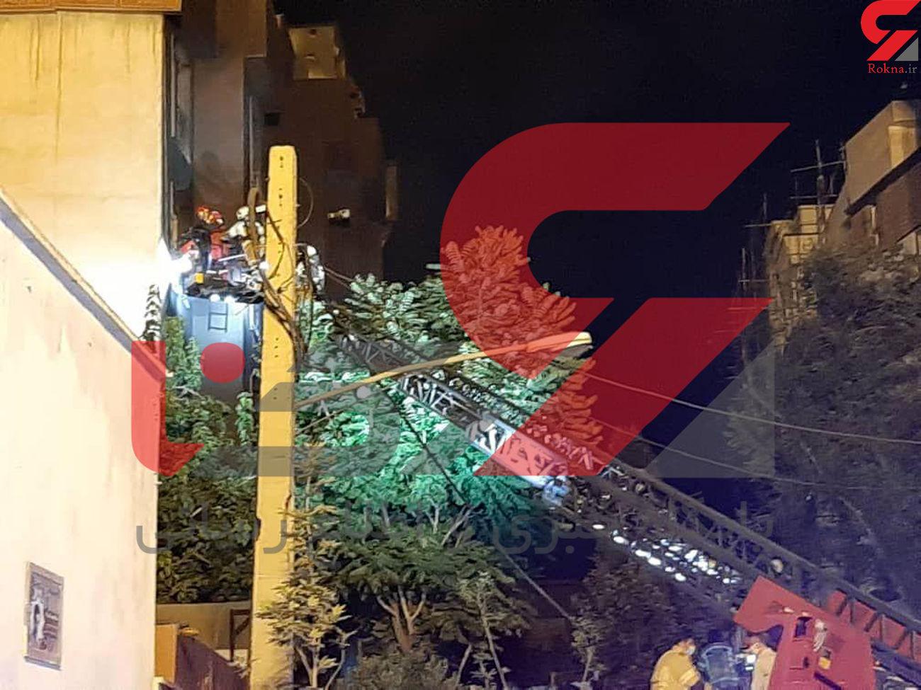 ماموریت پزشکی قانونی تهران در پرونده انفجار تجریش + فیلم