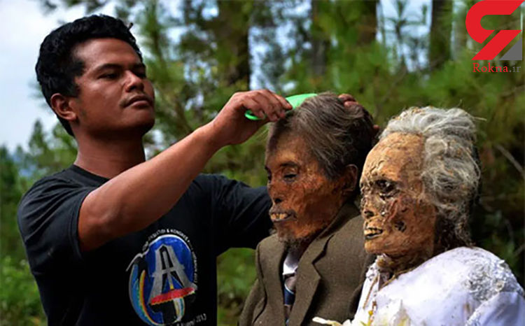 راز اجساد مردگان آرایش شده چیست؟+ تصاویر عجیب