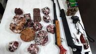 دستگیری6  شکارچی غیر مجاز در دماوند