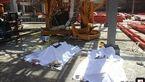 سقوط مرگبار 2 کارگر حوان از ساختمان در حال ساخت در تهران + عکس