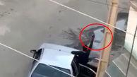 دستگیری سارقان  مسلح سیم برق در کرمانشاه +فیلم لحظه سرقت
