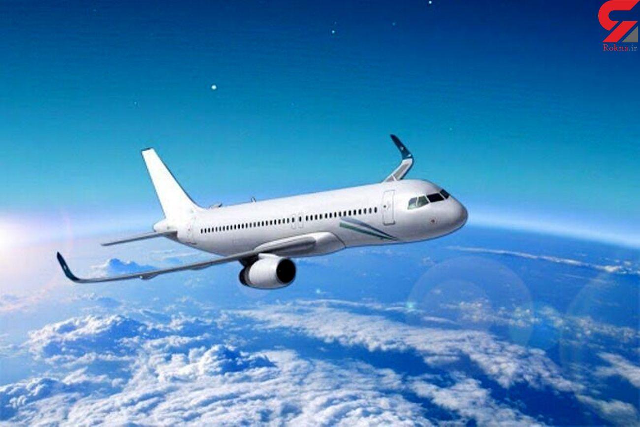 فرود اضطراری هواپیمای آمریکایی در اوکراین