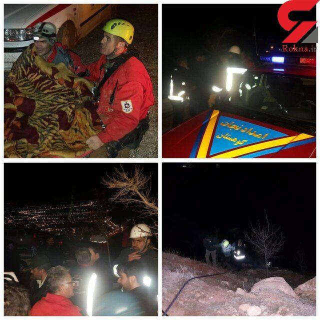 نجات 5 شهروند گرفتار در کوه های تبریز