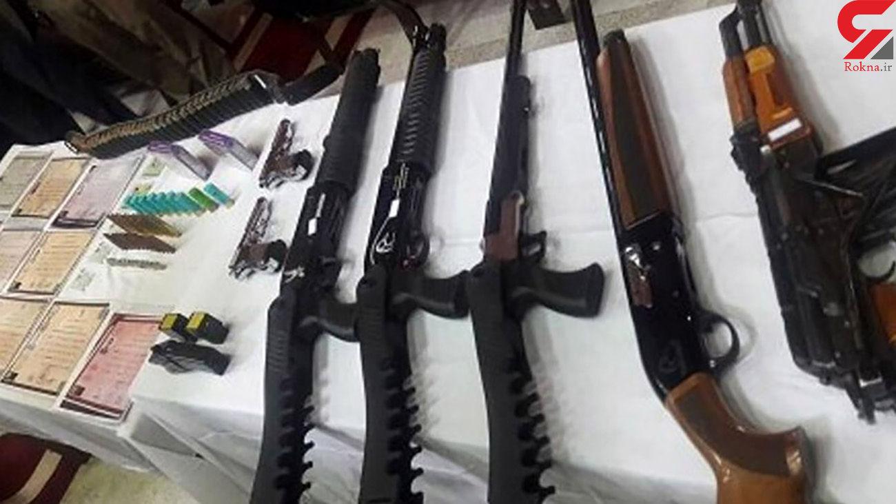 شبکه قاچاق سلاح در سردشت متلاشی شد