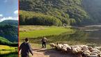 دریاچه ای رویایی در رودبار