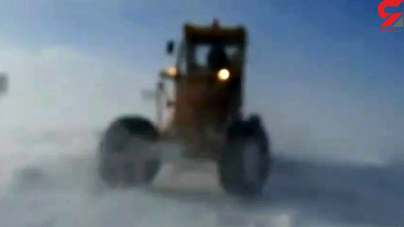 کولاک شدید در شهرستان چاراویماق هشترود + فیلم