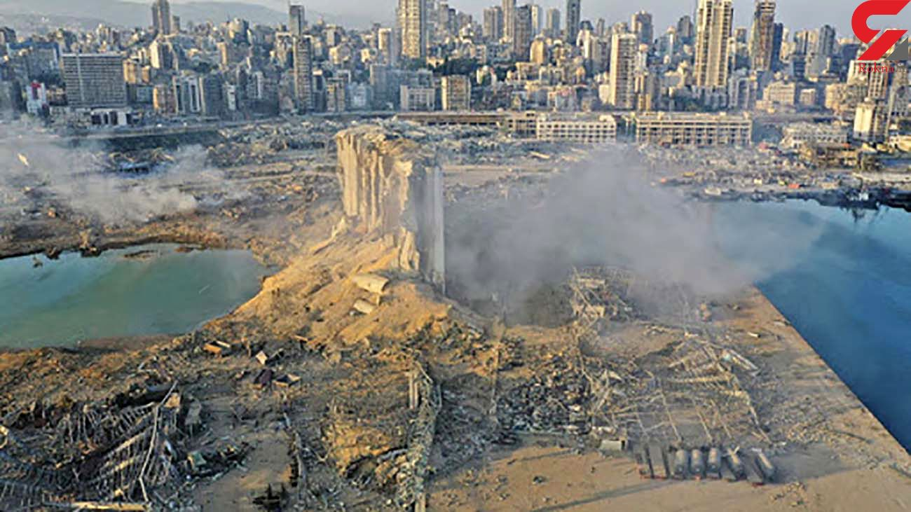 بندر بیروت، یک ماه پس از انفجار + فیلم از عمق فاجعه