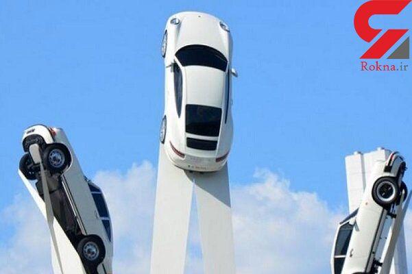 خودروهای پرنده برای حمل و نقل انسان تولید می شوند