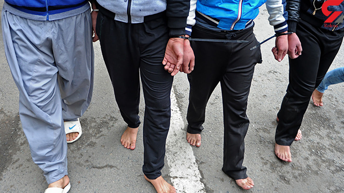 زورگیران محله دارآباد دستگیر شدند
