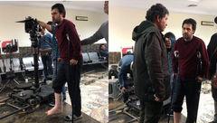 حادثه دردناک برای بازیگر سریال پایتخت + عکس