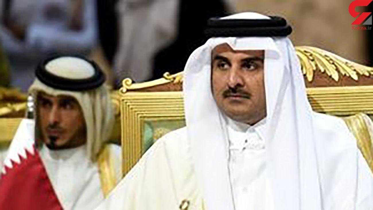 امیر قطر از جامعه جهانی چه خواست؟