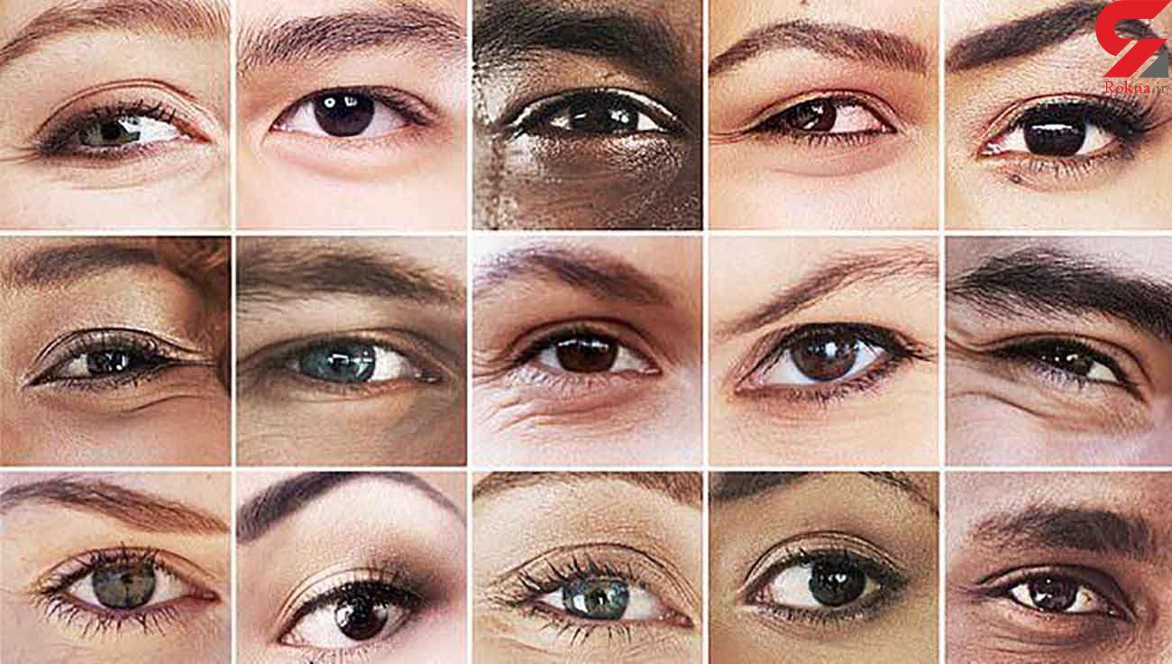 تعیین رنگ چشم با 50 ژن