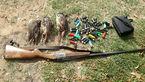 تیر بی هدف شکارچیان غیرمجاز در مازندران