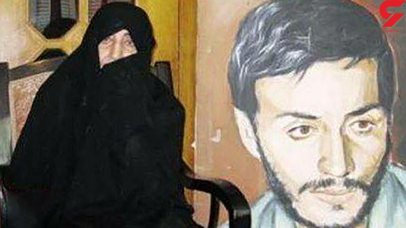 مادر شهید همت لحظاتی قبل درگذشت