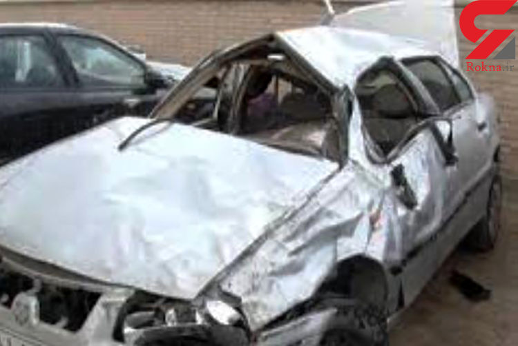 تصادف مرگبار سمند و دنا در آذربایجان شرقی / 3 تن در دم جان باختند