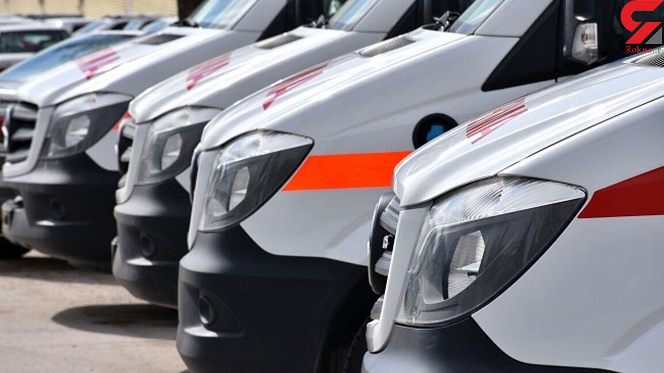 تصادف در دزفول یک کشته و چهار زخمی برجا گذاشت