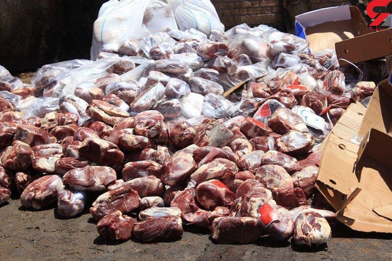 کشف هزار تُن گوشت غیربهداشتی در خراسان رضوی