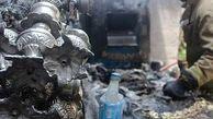 آتش سوزی بزرگ در بازار تهران+ تصاویر