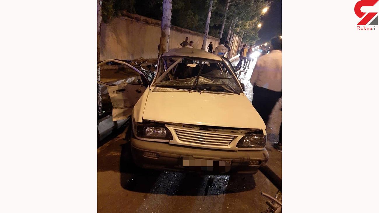 مرگ تلخ دختر 10 ساله و 2 فرد دیگر در تصادف شیراز / امشب رخ داد