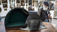کلاه ناپلئون در جنگ واترلو به حراج گذاشته شد + عکس